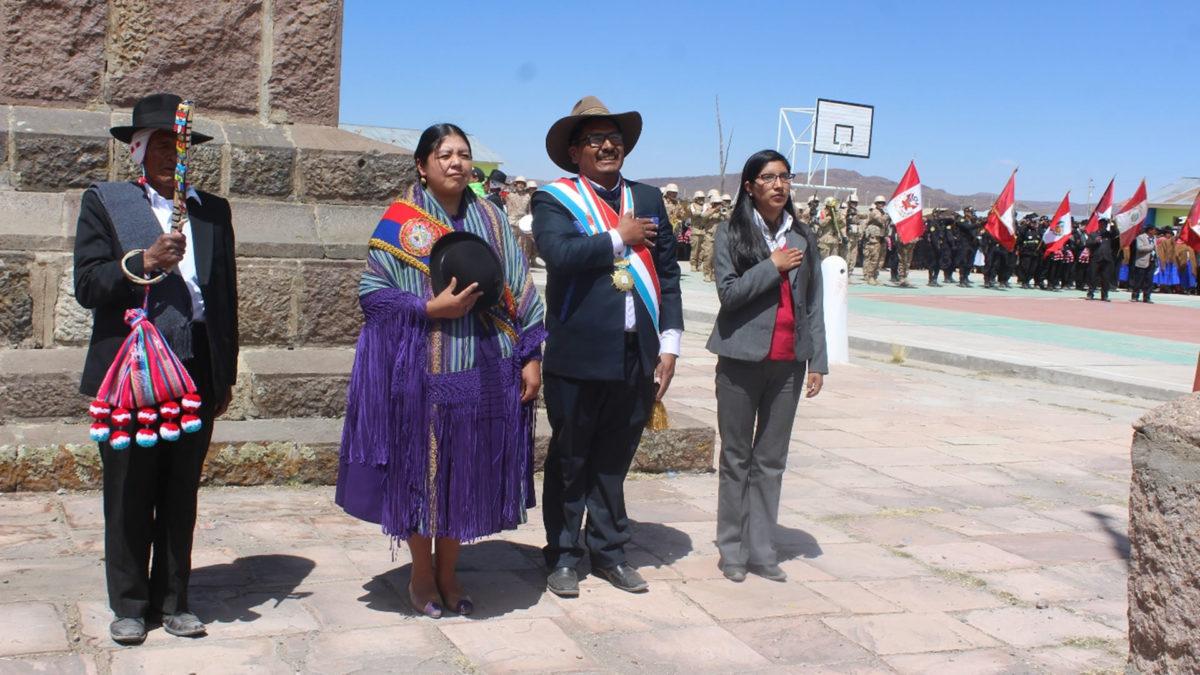 CONMEMORAN LOS 196 ANIVERSARIO DE LA BATALLA DE ZEPITA EN LAS PAMPAS DE CHUA CHUA