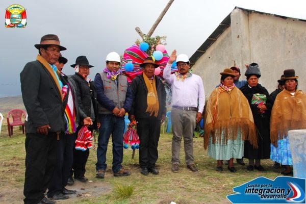 INICIAMOS MÁS OBRAS EN ZONA ALTA ZEPITA EN LA COMUNIDAD DE HUAÑACAYA