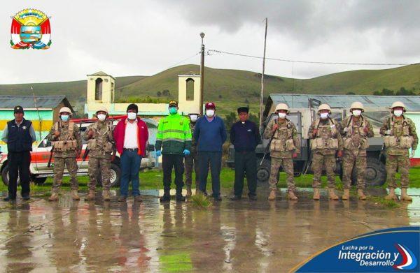 TRAS LA AMPLIACIÓN DEL ESTADO DE EMERGENCIA AUTORIDADES MULTISECTORIALES DEL DISTRITO DE ZEPITA DESARROLLAN OPERATIVOS EN CENTROS POBLADOS DE ZONA BAJA.