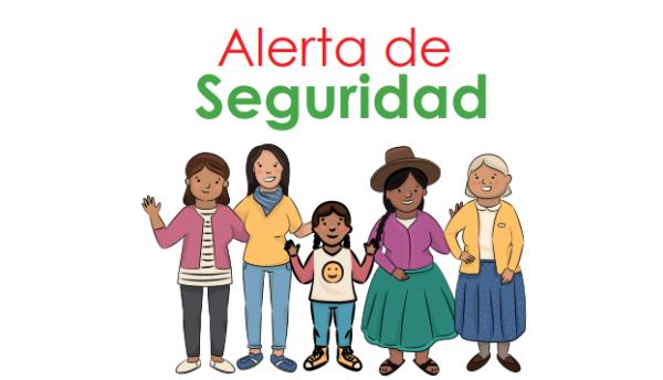 ALERTA DE SEGURIDAD DESDE LA INSTANCIA DISTRITAL ZEPITA.