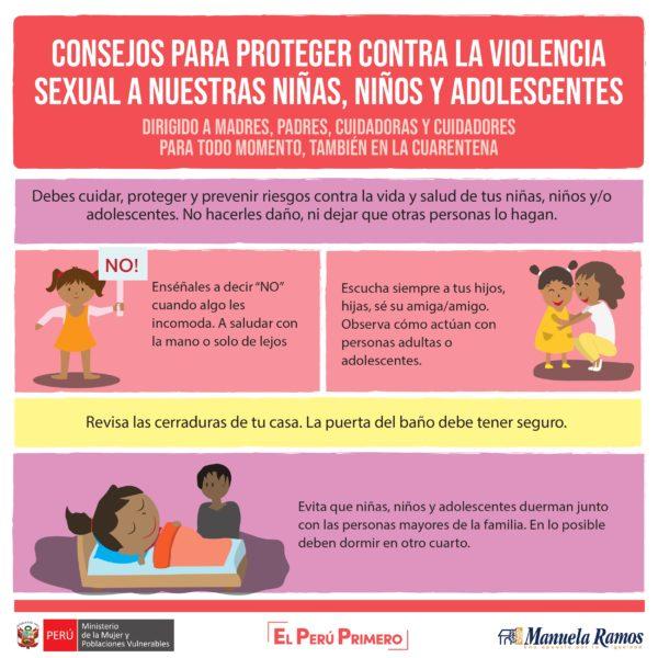 CONSEJOS PARA PROTEGER A LOS NIÑOS Y NIÑAS DE LA VIOLENCIA.