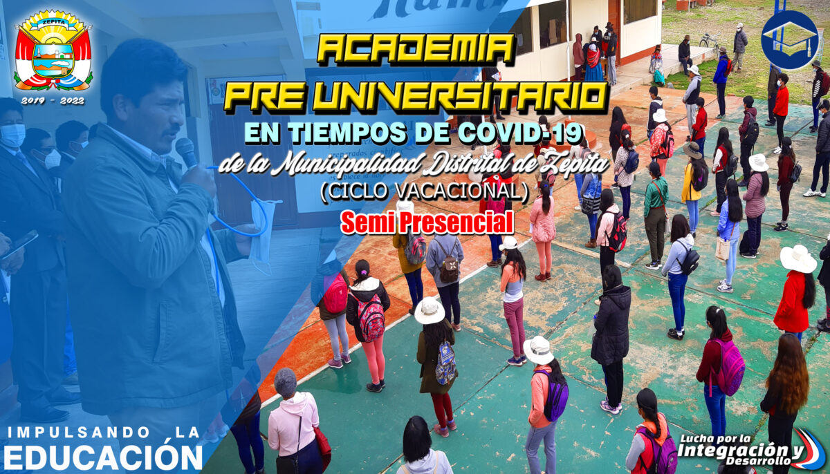 ACADEMIA PRE UNIVERSITARIO EN TIEMPOS DE COVID-19 /SEMI PRESENCIAL